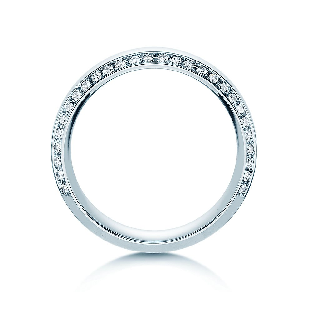 "Eheringe ""Love Life"" in Platin 950/- mit Diamanten 0,30ct im Online Shop"