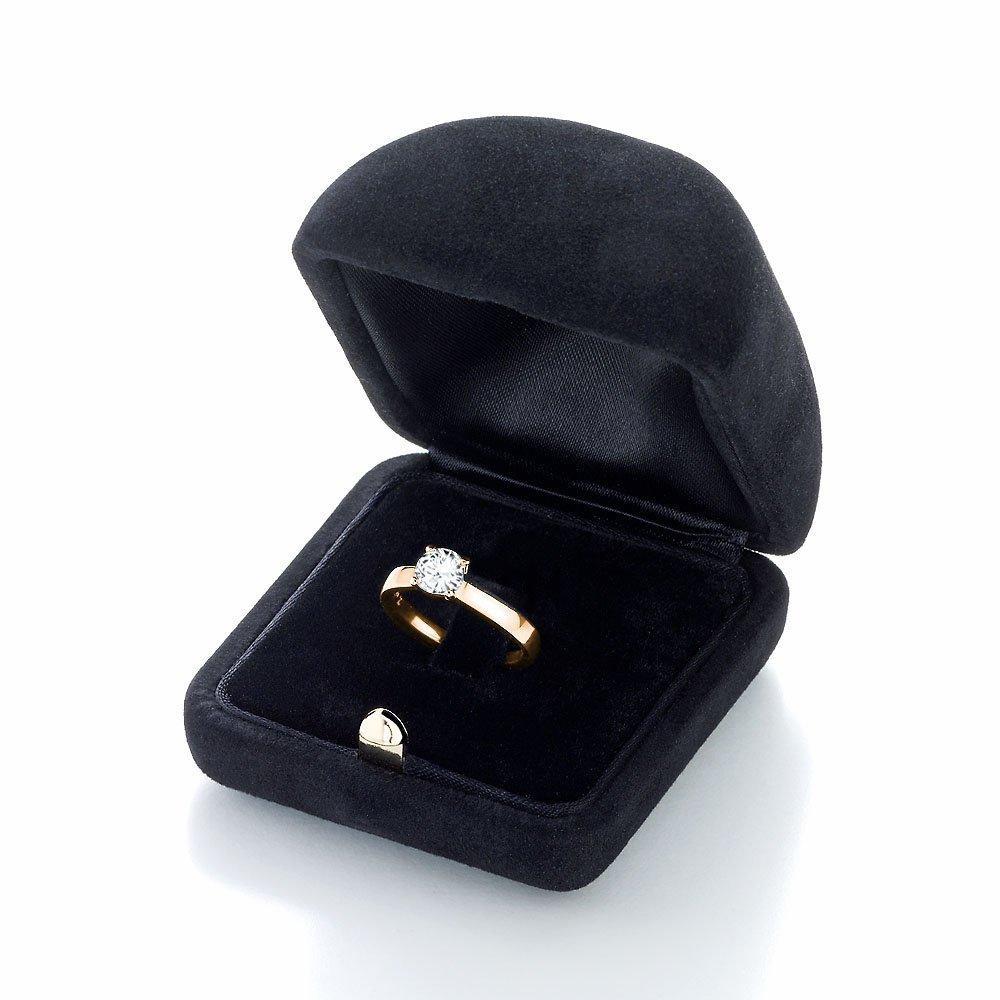 Verlobungsring Modern in 14K Gelbgold mit Diamant 0,75ct H/SI im Online Shop