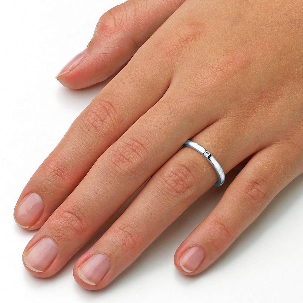 Verlobungsring Infinity in Platin im Online Shop