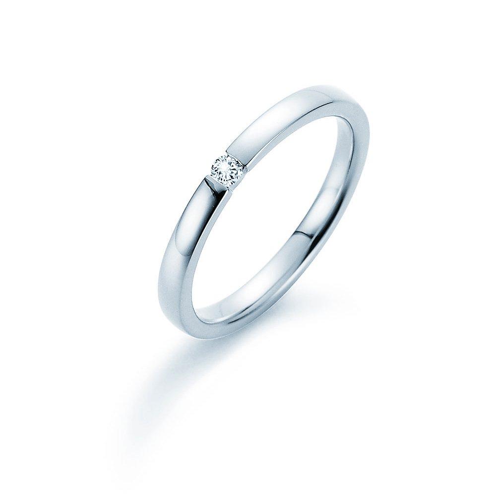 Verlobungsring Infinity in Silber und Diamant 0,05ct G/SI im Online Shop