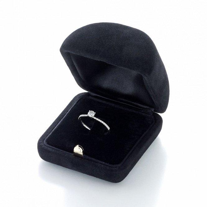 Verlobungsring Grace Petite in 18K Weißgold mit Diamant 0,43ct im Online Shop