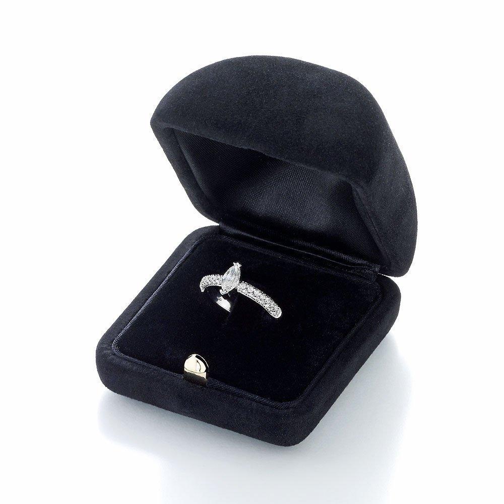 Verlobungsring Louis in 18K Weißgold mit Diamant 1,00ct im Online Shop