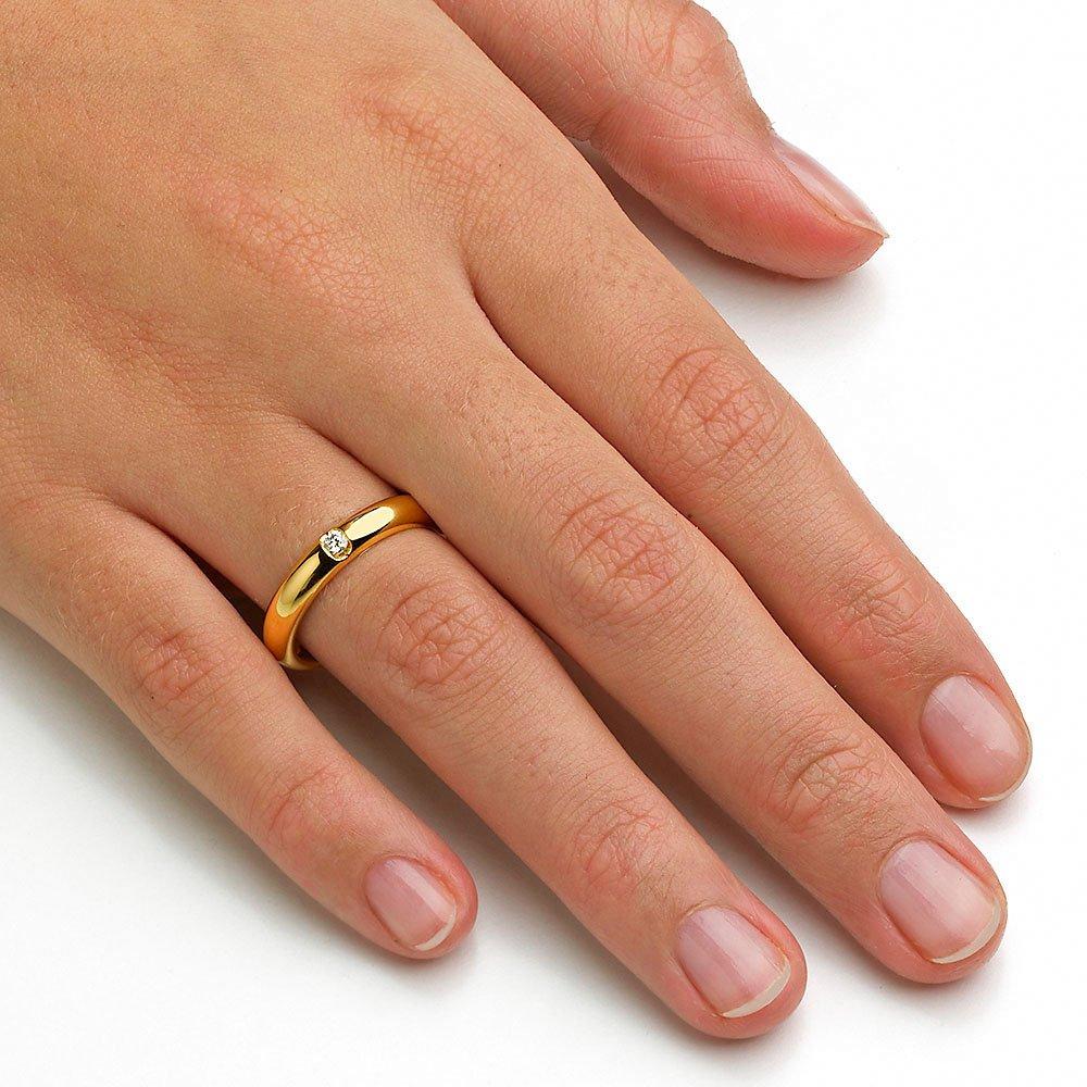 """Eheringe """"Embrace"""" in 8K Gelbgold beim Juwelier online"""
