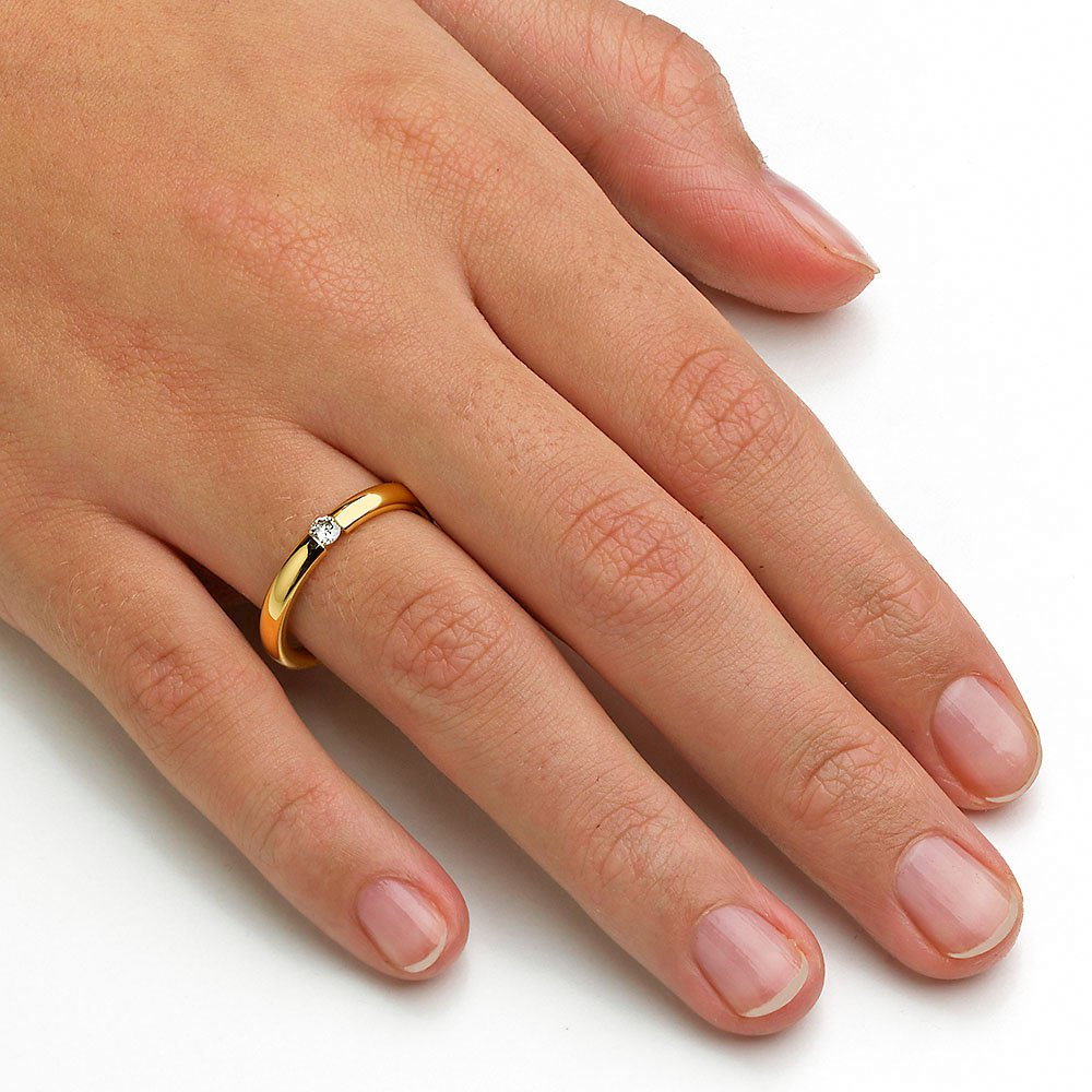 "Eheringe ""The Miracle"" in 14K Gelbgold beim Juwelier online"