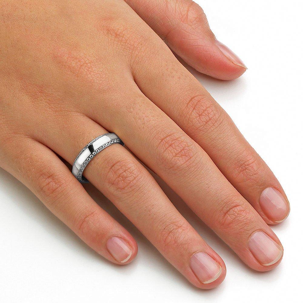 "Eheringe ""Love Life"" in Platin 950/- mit Diamanten 0,30ct beim Juwelier online"