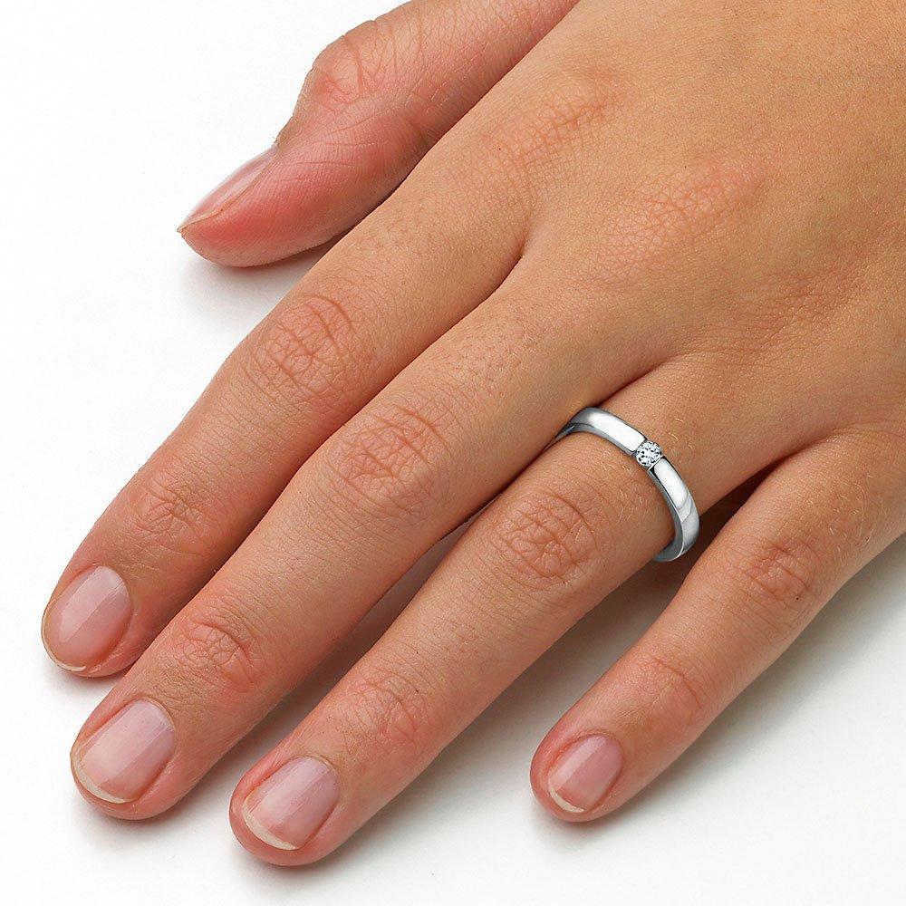 Verlobungsring Infinity in Silber und Diamant 0,10ct G/SI beim Juwelier online