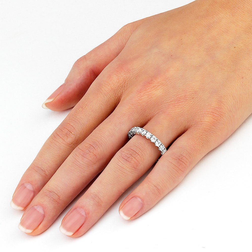 Verlobungsring Magic Moment Big in Platin handgefertigt