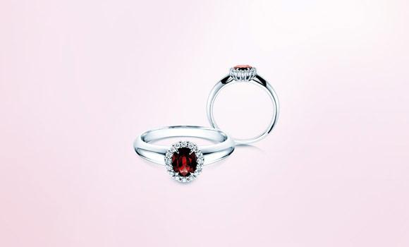 Verlobungsringe Mit Rubin Ab 199 Online Kaufen Juwelier De